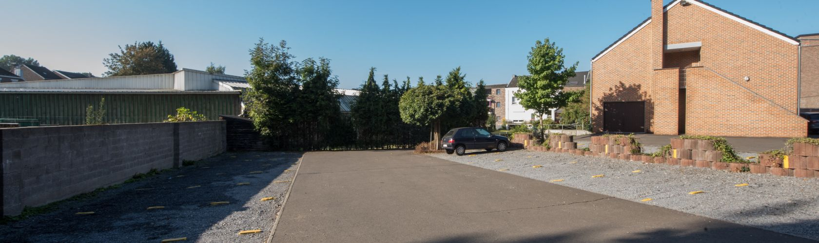 Parking funérarium FunéRADER à Aubel