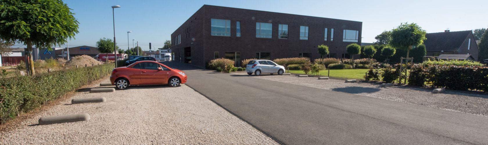 Parking funérarium FunéRADER à Welkenraedt
