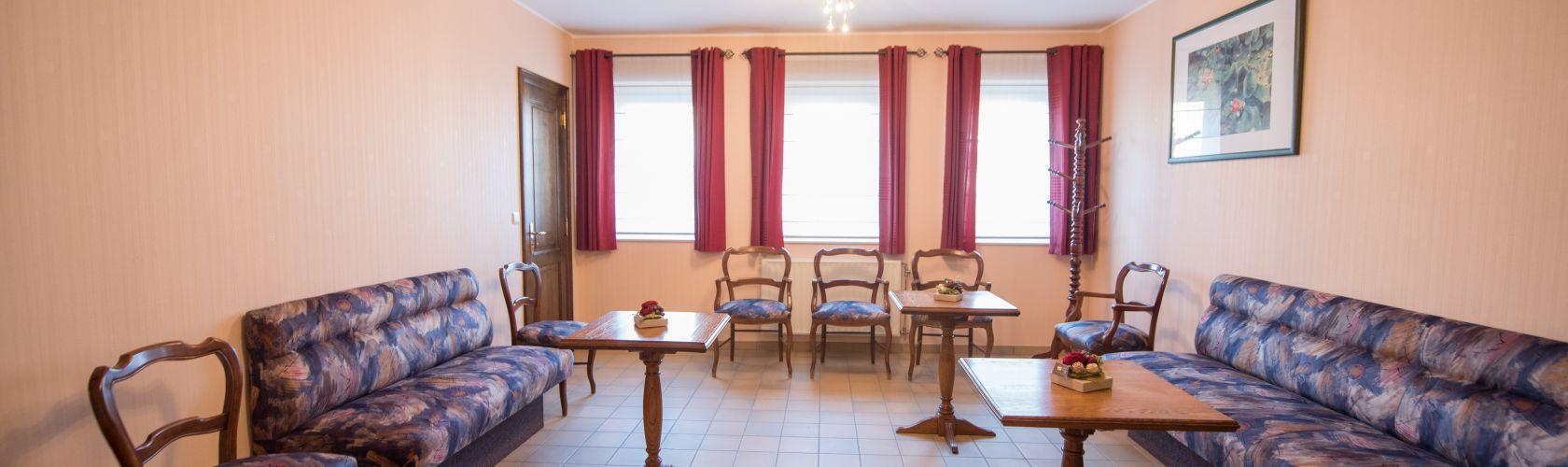 Salon pour famille du funérarium à Aubel