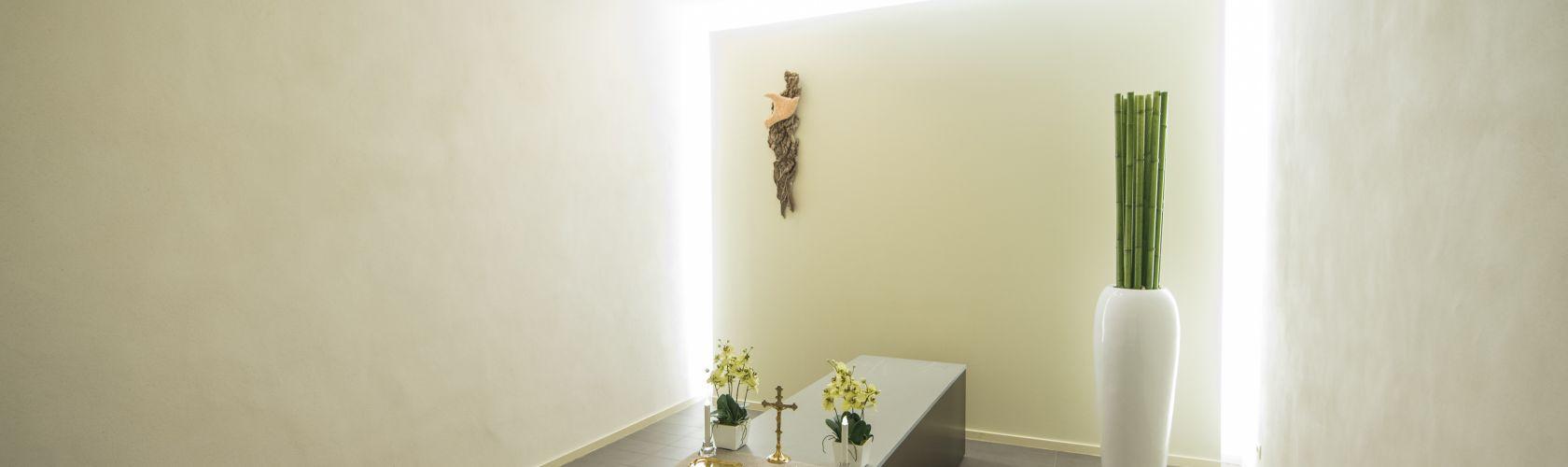 Salon funéraire du funérarium à Welkenraedt